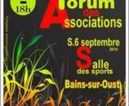 forum des association le 6 septembre 2014